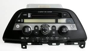 honda odyssey 2005 aux input honda odyssey 05 10 radio am fm 6 disc cd changer w rear pwr 39100