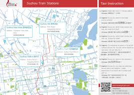 6 Train Map Suzhou Railway Station Map Location And Ticket Offices