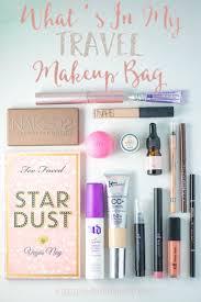 25 best makeup bag essentials ideas on pinterest travel makeup