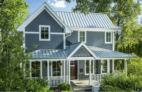 metal roofing on ranch style home home style