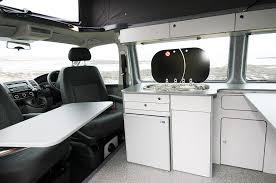 volkswagen california shower volkswagen t6 long wheelbase jerba cromarty campervan