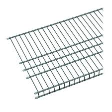 Home Depot Closetmaid Closetmaid 24 In Hanging Wire Shelf 1048 The Home Depot