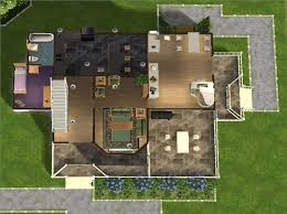 1 Storey Floor Plan Mod The Sims 3 Bedroom 3 Bathroom Family Home