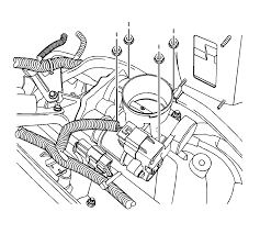 repair instructions throttle body assembly replacement 2011