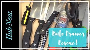 100 kitchen knives to go best 20 kitchen knives ideas on kitchen knives to go organizing a kitchen knife drawer hub neat on the go youtube