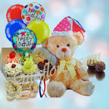birthday bears delivered flowers and gifts delivered in singapore cupcake balloons