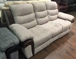 3 Seat Reclining Sofa Impressive Fabric 3 Seater Recliner Sofa For 3 Seat Reclining Sofa