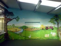 dreamworld creations wall murals edinburgh mural art active kids adventure park mural