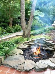 Flagstone Ideas For A Backyard Best 25 Rock Fire Pits Ideas On Pinterest Fire Pit Area How To