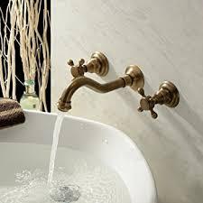 lightinthebox contemporary warerfall bathroom sink faucet wall