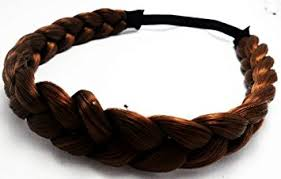 braided hair headband headband fashion elastic stretch synthetic hair braid