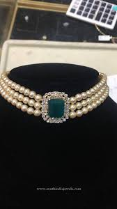jewellery choker necklace images Original pearl choker necklace design jewels pinterest jpg