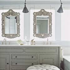 Grey Bathroom Vanity by Gray Bathroom Vanity Cottage Bathroom Coastal Living