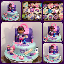 doc mcstuffins cake and matching cupcakes https www facebook