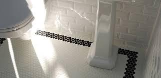 hex mosaic floor tile els homes