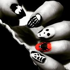 robin moses nail art halloween nails halloween nail art creepy 3d