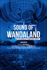 Theme Song For Seeking Wanda On The New Hefei Wanda City Park Is Seeking