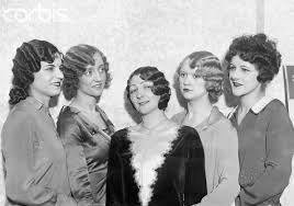 hair styles for late 20 s five women modeling 1920s hairstyles usa sles of permanent waves
