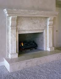 Travertine Fireplace Tile by Fireplaces Durango Stone