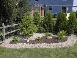 decorative landscaping with decorative landscape gravel