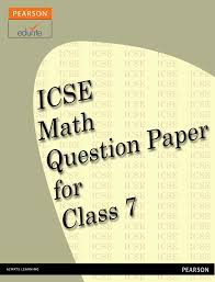 maths questions for class 7 icse http icse edurite com icse