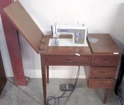 Sewing Machine With Table Sears Kenmore Sewing Machine U0026 Table
