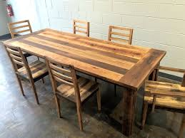 Reclaimed Dining Room Table Dining Table Reclaimed Dining Table Reclaimed Wood Furniture