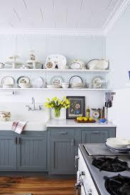 blue gray for kitchen cabinets 31 kitchen color ideas best kitchen paint color schemes