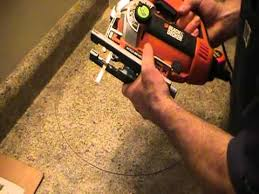 cutting countertop for sink how to cut out a countertop for a basin ot sink plumbing tips youtube