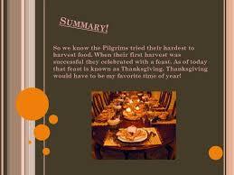 thanksgiving history ppt