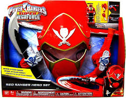 power rangers super megaforce red ranger hero roleplay toy