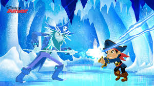captain jake land pirates frozen fortress disney