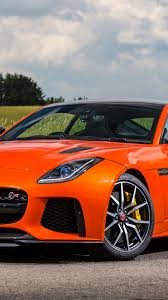 orange cars image jaguar 2016 f type svr orange cars metallic 1440x2560
