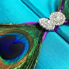 peacock invitations stunning light teal peacock wedding invitations with embellishment
