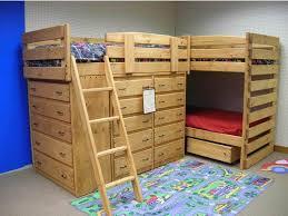 L Triple Lindy Bunk The Bunk  Loft Factory - Triple lindy bunk beds
