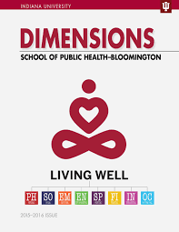 2015 public health dimensions magazine by indiana university