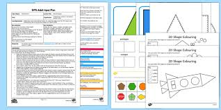 shape space and measure 2d shapes early years eyfs page 1