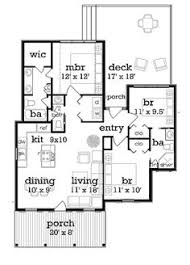 Cottage Style Home Floor Plans Craftsman Mountain House Plan And Elevation 1400sft Houseplans