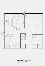 Bedroom Floor Plan Plaza Properties Luxury Apartment Homes