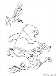 kung fu panda coloring printable coloring pages