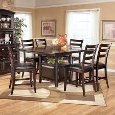 ridgley 7 piece counter height table set by signature design by