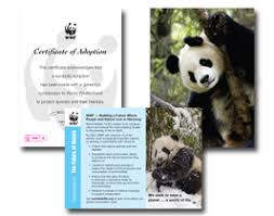 world wildlife fund adoption kit benefits