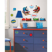roommates thomas the tank engine peel and stick wall decal