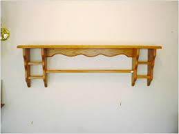 Kitchen Wall Shelves by Wood Wall Shelves With Brackets Pennsgrovehistory Com