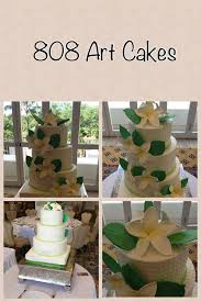 hawaiian wedding cake 808 art cakes work pinterest cakes