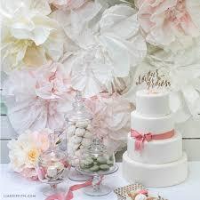 wedding backdrop tutorial coffee filter flower backdrop lia griffith