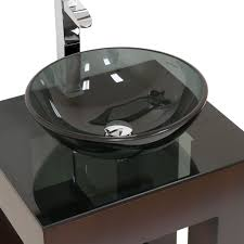modern glass bathroom sinks