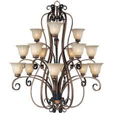 maxim lighting fremont 15 light platinum dusk chandelier 22247wspd