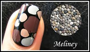 easy pebble nail art tutorial no tools required how to basics
