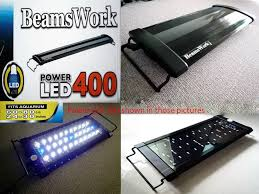 24 aquarium light bulb beamswork aquarium power led 400 light l 60 80 cm 24 30 tank
